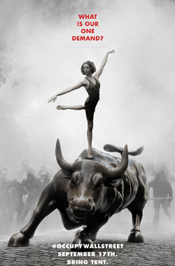 wall street dancing bull
