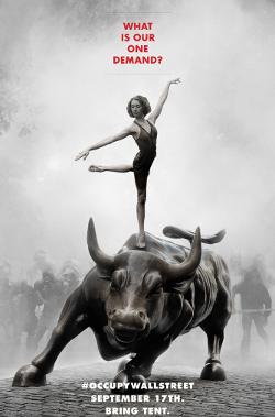 wall street dancing bull