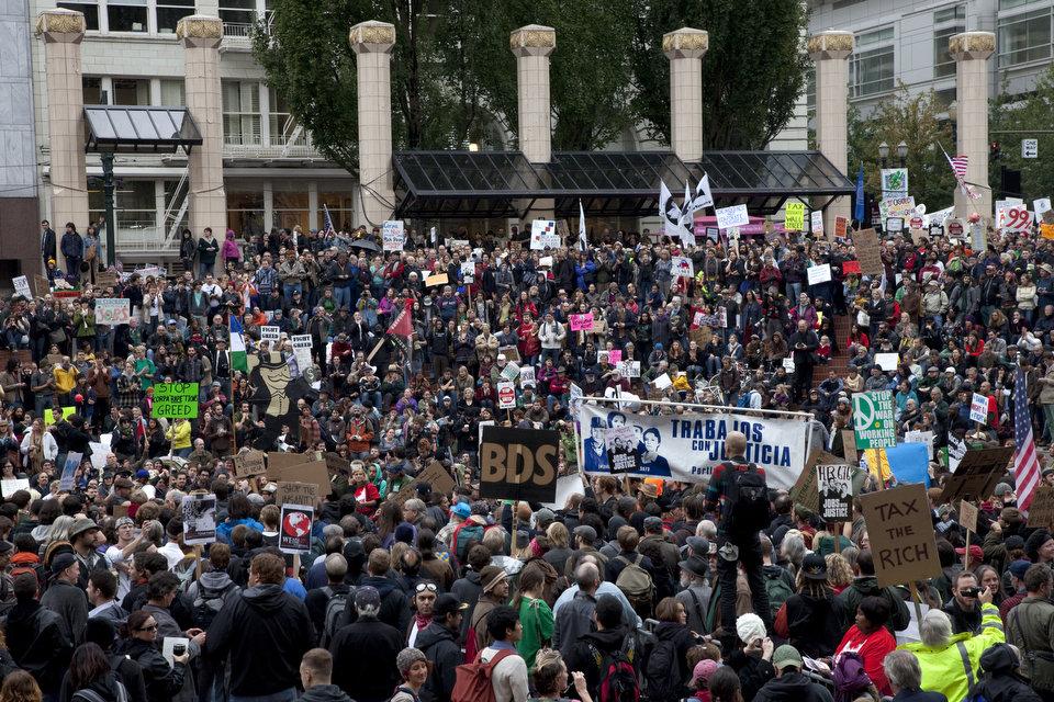 Occupy portland 1