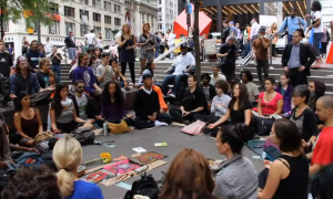 occupy wall street meditation