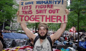 che occupy wall street love