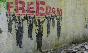 freedom for all art