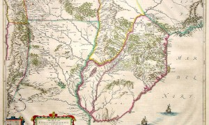 historical map paraguay