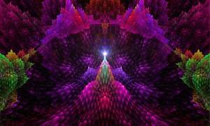 pinnacle of fractal light