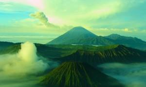 volcano green light