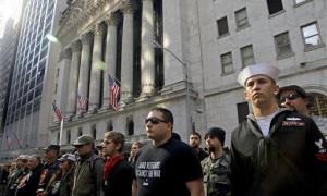 occupy military protestors