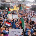 Hundreds of Thousands Take to the Streets in Syria