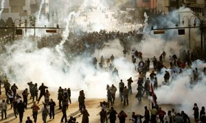 tear gas egypt