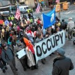 Protesters Occupy Goldman Sachs