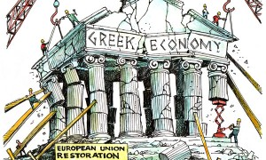 greek collapse cartoon