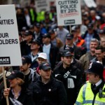Thousands of British Police Join Anti-austerity Protest
