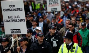 uk police protests
