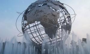 globe fountain
