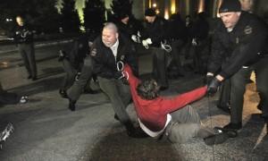 nashville arrest occupy