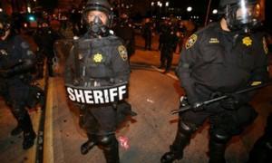 oakland police riot