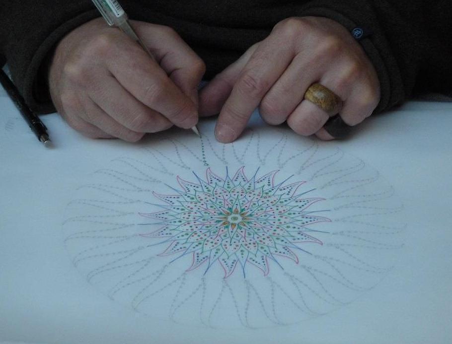 Art Hands Mark Golding