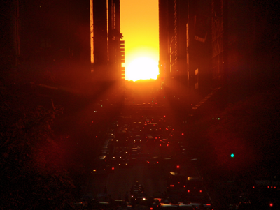 solstice in the city