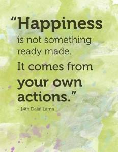 happiness dalai lama quote