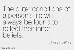 james allen quote beliefs